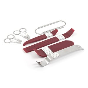 Набір інструментів для знімання обшивки 10 предметів, поліуретан сталь