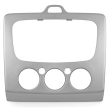 Car Stereo Trim Plate for Ford silvery  - Short description