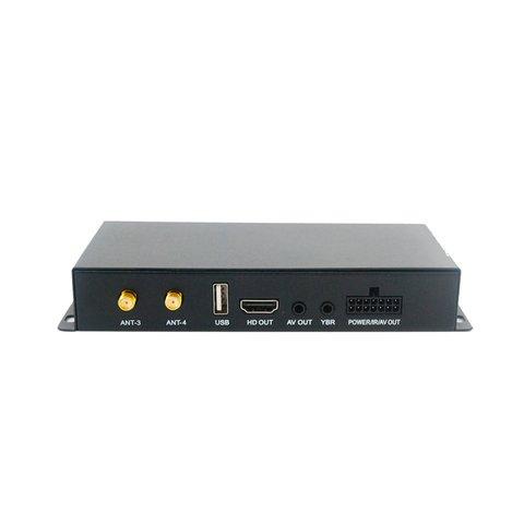 Full HD Car DVB T TV Receiver with 4 Antennas