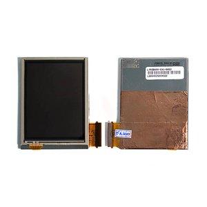 LCD for Dopod 838; Cingular 8125; I-Mate K-JAM; QTek 9100; O2 XDA Mini S; Orange SPV M3000; T-Mobile MDA, MDA Vario Cell Phones, (with touchscreen, yellow flat cable)