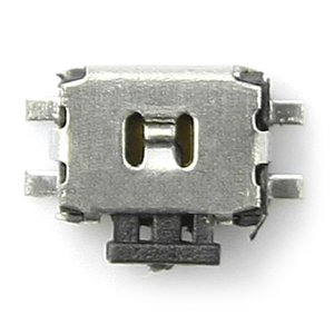 On/Off Button for Nokia 2100, 3300, 3310, 3330, 3410, 3510, 3510i, 3650, 3660, 5210, 5510, 6150, 6210, 6310, 6310i, 6600, 6670, 7200, 7610, 7710, 8210, 8800 Cell Phones, (4 contact)