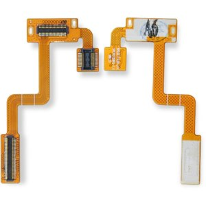 Flat Cable for LG KP233, KP235 Cell Phones, (for mainboard, with components)