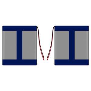 Battery, (115 mm, 93 mm, 3.2 mm, Li-ion, 3.7 V, 3000 mAh)