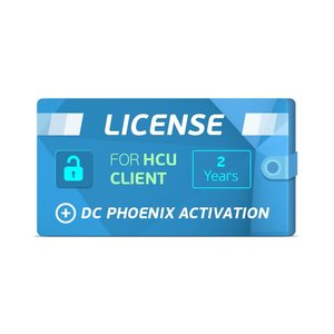 HCU Client 2 Years License + DC Phoenix Activation