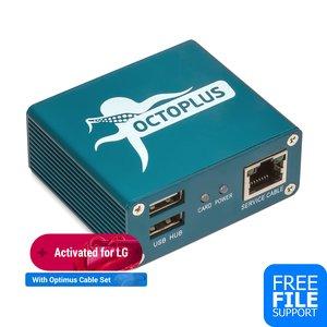 Octoplus Box LG with Optimus Cable Set (19 pcs.)