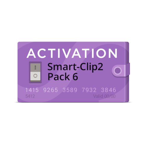 Smart-Clip2 Pack 6 Activation