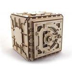 "Rompecabezas mecánico 3D UGEARS ""Caja fuerte"""