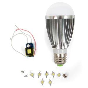 Комплект для сборки светодиодной лампы SQ-Q03 7 Вт (естественный белый, E27)