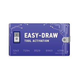 Активация Easy-Draw Tool