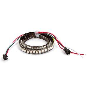 Светодиодная лента RGB SMD5050, WS2812B (c  управлением, IP20, 144 диодов/м, 5 м)