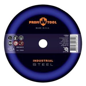 Круг відрізний по металу PROFITOOL INDUSTRIAL 125х2,0х22,2 мм