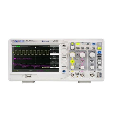 Цифровий осцилограф SIGLENT SDS1202DL+