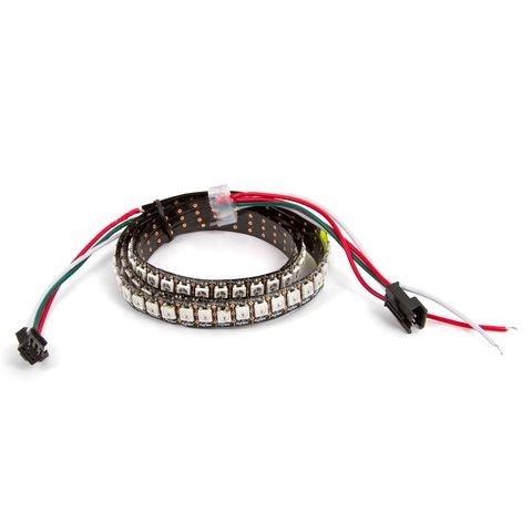 RGB LED Strip SMD5050, WS2812B with controls, IP20, 144 LEDs m, 5 m